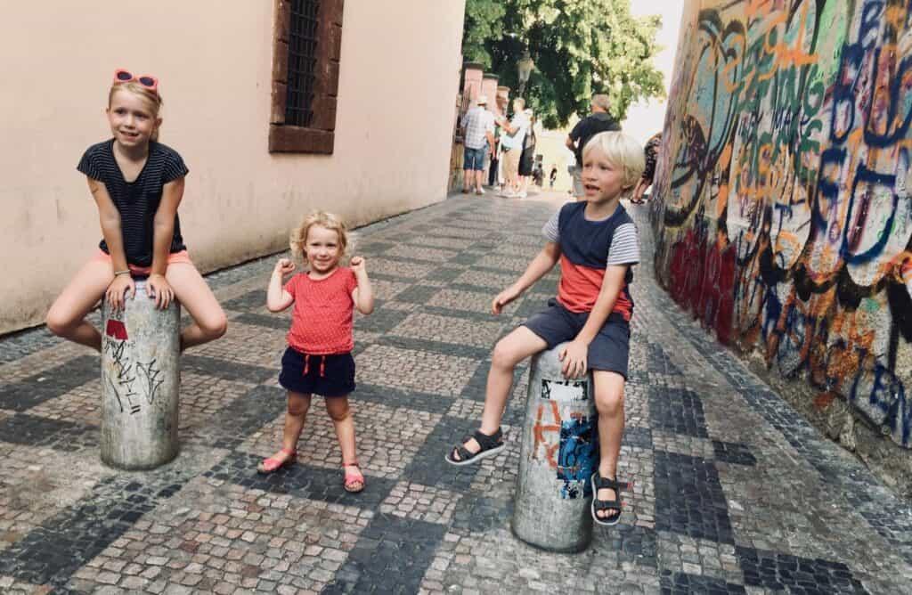 My kids: Hanna, Noah & Kato